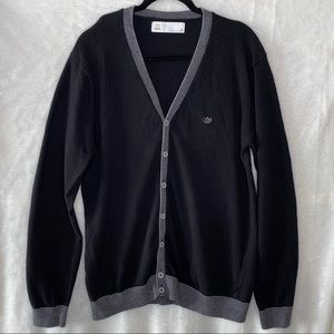 Next Men's Button Down Cardigan Sweater
